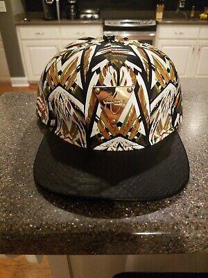 Hater Snapback Mens  Adjustable Cap Hat metal triangle logo