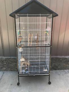 Bird Cage Large with Accessories