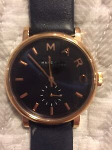 Navy/Gold Marc Jacobs Watch (womens)