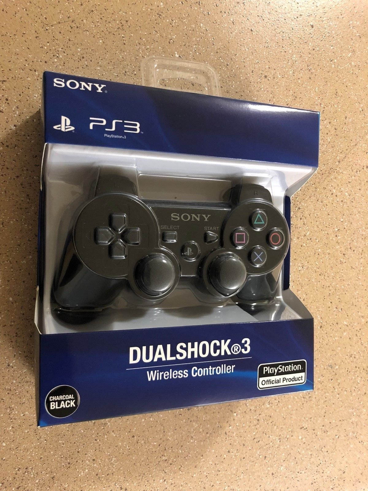 Brand NEW Sony PlayStation 3 PS3 DualShock 3 Wireless SixAxis Controller -Black