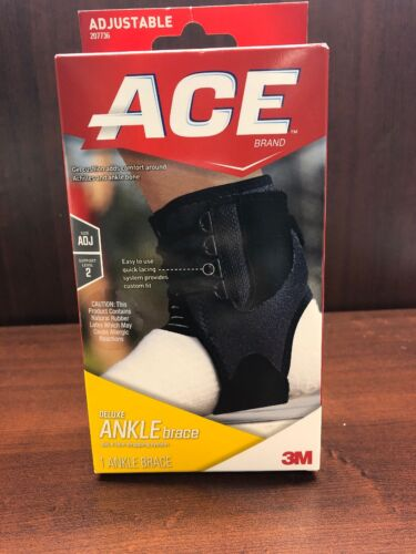 ACE Deluxe Ankle Brace Support Level 2 Quick Lace Strapping
