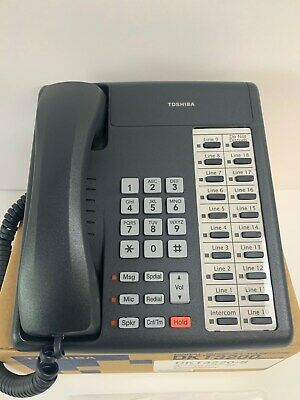 Toshiba Dkt-3220-s 20 Button Speaker Phone New - 1 Year Warranty