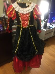 VICTORIAN   COSTUME. VAMPIRE OR PRINCESS EXCELLENT  CONDITION