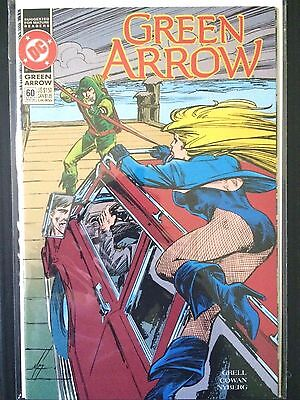 "Green Arrow #60   (DC 1992)   ""Predator Part 2""    Mike Grell    VF"