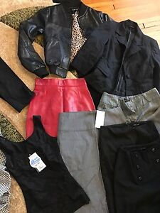 Lululemon, Guess, Danier, banana republic and other brand names