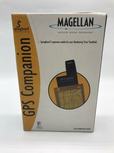 Magellan GPS Companion and software for Handspring Visor