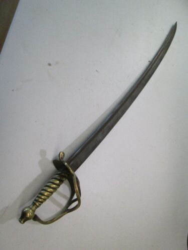 BRITISH MODEL 1751 US REVOLUTIONARY INFANTRY SWORD WITH NO SCABBARD