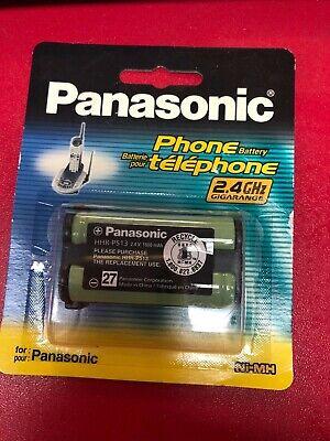Genuine Panasonic Cordless Telephone Battery, Type 27 HHR-P513A ()