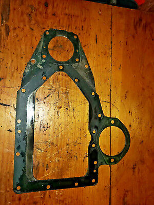Wisconsin Vh4d Engine Timming Gear Cover Spacer Plate Part Bobcat 610
