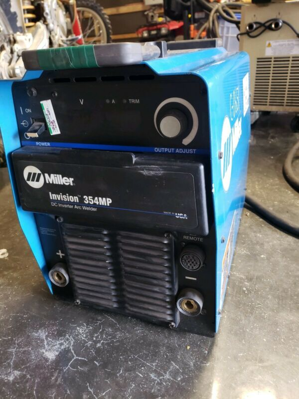 Miller Invision 354mp welder