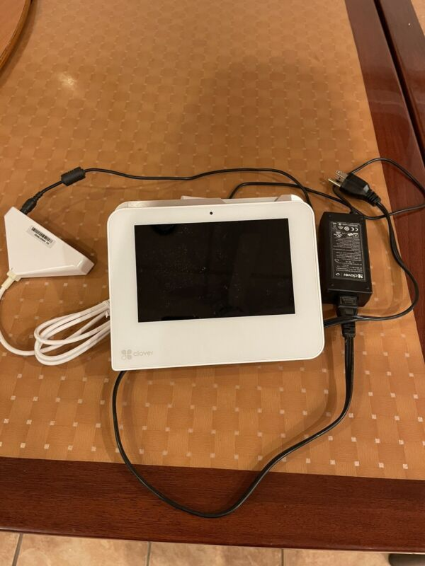 CLOVER MINI Wifi CREDIT CARD POS TERMINAL w/ Power Supply