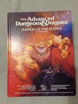 Manual of the Planes AD&D 1st edition Jeff Grubb 1987