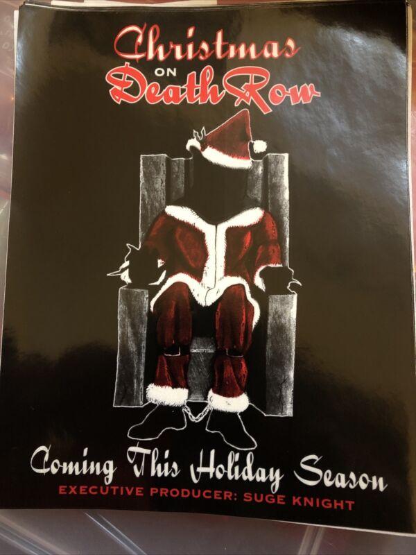 Hip Hop Memorabilia Christmas On Death Row Records Suge Knight  Lot Of 63 Rare