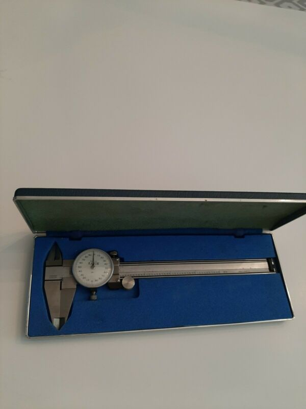 "BESTOOL KANON  6"" CALIPER .001"" WITH STORAGE CASE, MADE IN JAPAN"