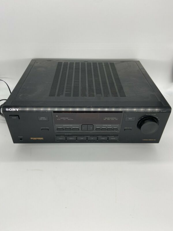Sony TA-AV571 AV Control Integrated Amplifier Black