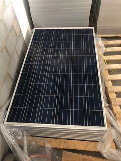 260w  JA solar panels