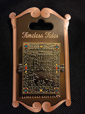 Disneyland Timeless Tales Book *Sleeping Beauty* LE Pin