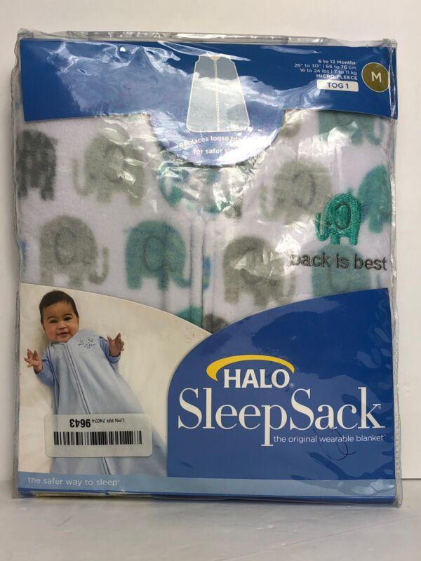 Halo Sleep Sack Size Medium 6 To 12 Months Elephant