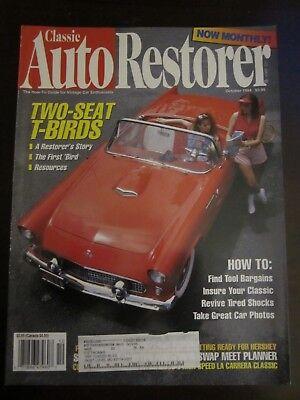 Classic Auto Restorer Magazine October 1994 1955 Ford Thunderbird T-Bird (Y2)