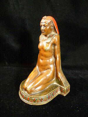 K&O Kronheim & Oldenbusch Signed Single Cleopatra Egyptian Revival Bookend 1920