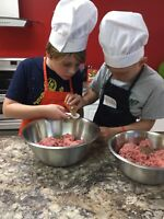 Cooking classes for children