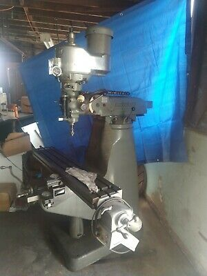 Bridgeport Series I Vertical Knee Milling Machine 9 X 48 Table