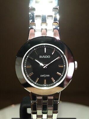 NEW Authentic RADO DIASTAR R14342173 25MM S/S /Papers