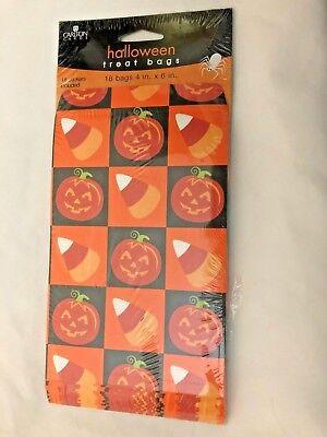 Candy Corn Jack-O-Lantern Checks 4X6