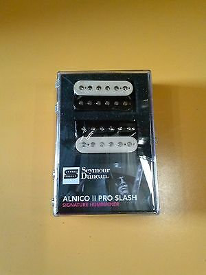 New Seymour Duncan Slash APH-2s Zebra Alnico II Pro Pickup Set 11104-08-ZRZ