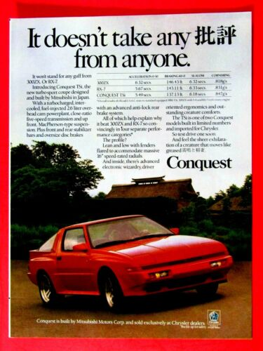 1987 Mitsubishi Conquest It Doesn