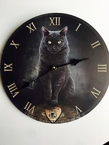 Majestic black cat clock Bidwill Blacktown Area Preview