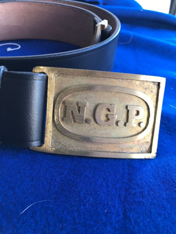 National Guard NGP  M1874 Leather Belts
