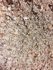 Clean sawdust