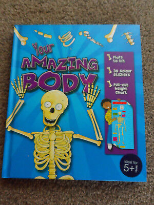 2 CHILDRENS BOOKS YOUR AMAZING BODY & ILLUSTRATED ENCYCLOPEDIA for sale  Shipping to South Africa