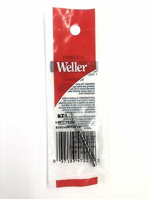 New Weller St1 0.06 1.6mm Screwdriver Tip For Wp25 Wp30wp35 Wlc100