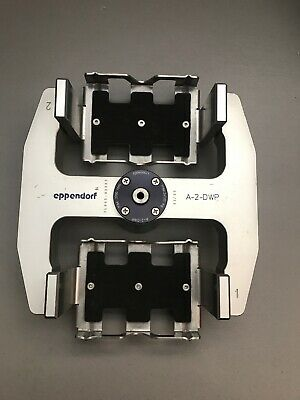 Eppendorf Centrifuge Rotor A-2-dwp With 2 Buckets