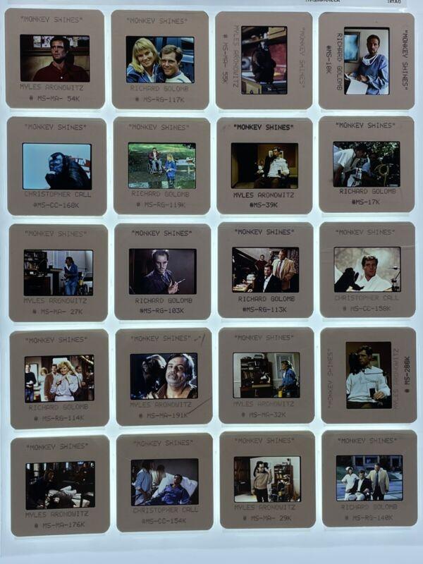 Monkey Shines Horror Movie 35mm Slides Press Kit Publicity Promo Vtg Lot of 20
