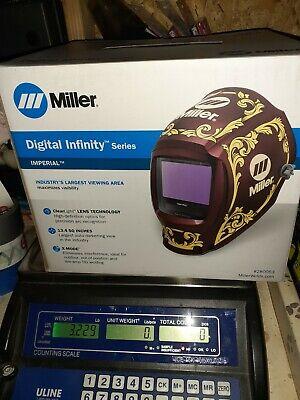 Miller Imperial Digital Infinity Auto Darkening Welding Helmet