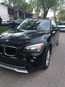 BMW X1 2012** noir premium package