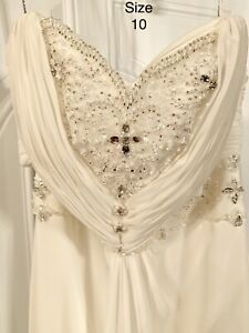 New size 10 wedding gown