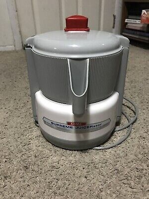 ACME Supreme Juicerator 5001 Centrifugal Juicer Complete Clean Tested Runs Great