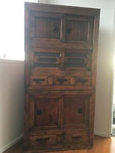 Antique Asian Cabinet Brighton Bayside Area Preview