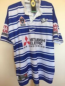 New With Tags Bulldogs NRL 2004 Heritage Jersey Austral Liverpool Area Preview