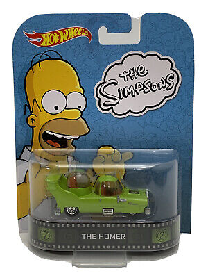 Hot Wheels The Homer The Simpsons Retro Entertainment (535)