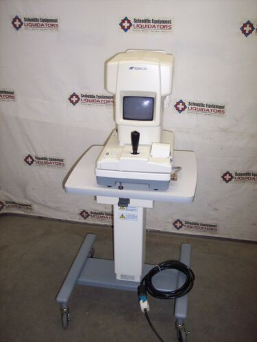 Topcon RM-A7000 Auto Refractometer w/Topcon AIT-11 Adjustable Instrumentation Ta