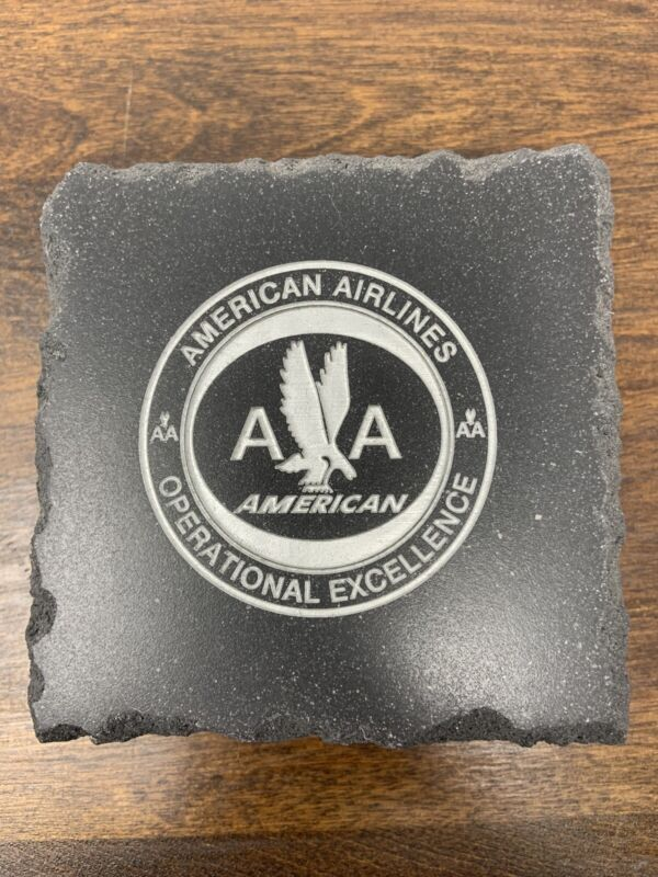 American Airlines Stone Coasters