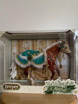 BREYER SR MINSTREL LOPING QUARTER HORSE MOLD CHRISTMAS HORSE NIB