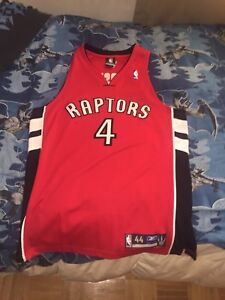 Signed by Chris Bosh Authentic Jersey Toronto Raptors