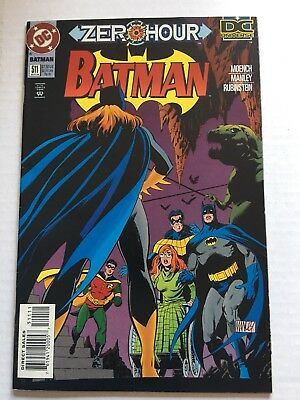 Batman #511; Oracle/Birds of Prey/Killing Joke; 12 Close-Up Pics; Very Nice Copy