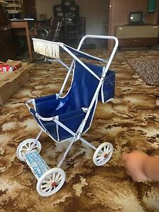 Retro Vintage antique Dolls Pram Stroller Kylie pusher West Footscray Maribyrnong Area Preview